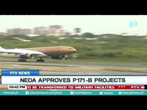 NEDA approves P171-B projects