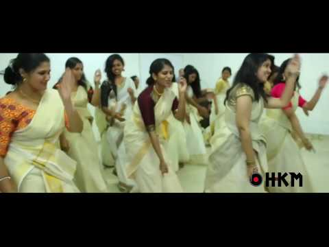 Dj HKM -  Jimikki Kammal Remix  (Girls Dance Performance)