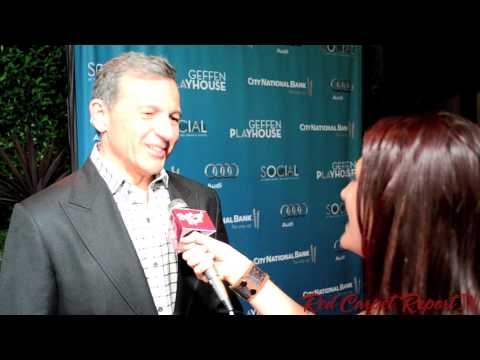 Bob Iger, Chairman and CEO of Walt Disney Co, at #BackstageAtTheGeffen 12th Annual Fundraiser