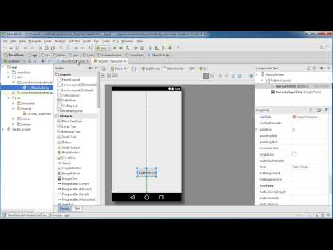 Android App Development for Beginners - 56 - Image Capture