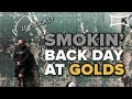 Download SMOKIN' BACK DAY AT GOLDS GYM VENICE - Lil' Smokey's First Time at Golds
