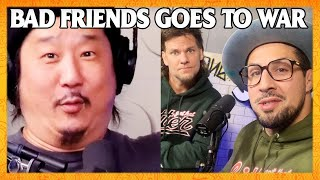 Theo Von and Brendan Schaub's Attack on Bobby Lee | Bad Friends Clips