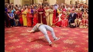 Cartoonz Crew full dance performance at Nepali wedding reception (Sunil amp; Rubina)