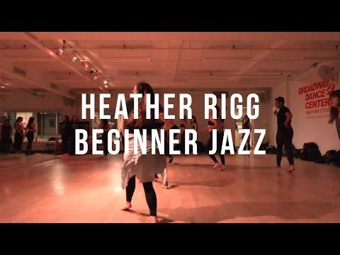 Heather Rigg | Beginner Jazz | #bdcnyc
