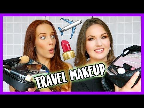 Travel Makeup Bag Essentials with Simone Simons from Epica