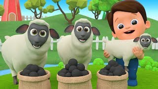 Baa Baa Black Sheep Nursery Rhymes - Outdoor Playground For Kids