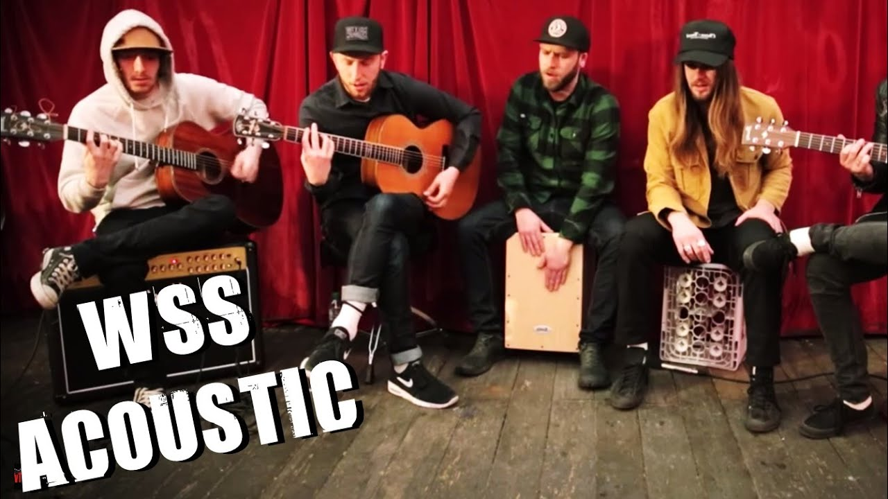 Wss Berlin While She Sleeps Four Walls New World Torture Acoustic Berlin Metal Tv