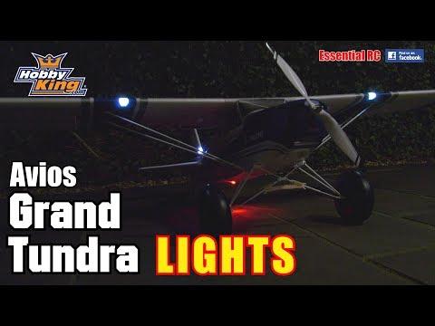 AVIOS GRAND TUNDRA RC BUSH PLANE *LIGHT SYSTEM*