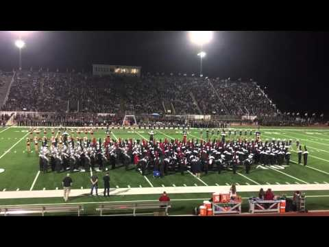 Tomball High School Band 2015 - Patriotic Show