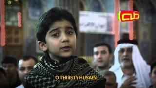 يا حسين حبيبي الطفل عمار الحلواجي في صحن الحسين (ع)