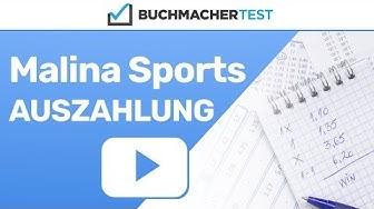 Malina Sports Auszahlung