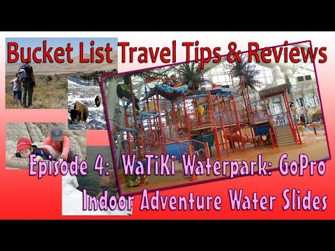WaTiKi Waterpark: GoPro Indoor Adventure Water Slides