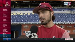 Randal Grichuk on the Marlins' center-field