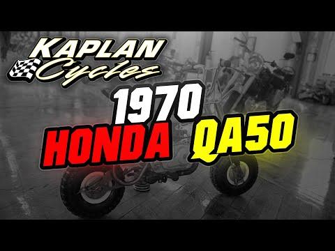 1970 Honda QA50 - Gypsy Yellow