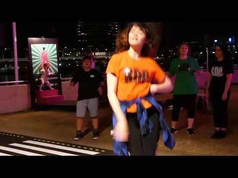 PART 2! K-Pop in Public! 1 hour Random Play Dance Game - Brisbane Festival Runway Busk
