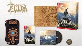 Zelda: Breath of the Wild Special & Master Editions Announced - IGN News