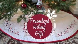 Personalized Holiday Gifts with Personal Creations • 25 Days of Christmas