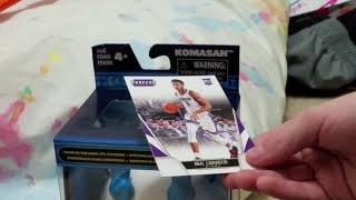 Reviews and unboxing part 1 NBA Threads Cards