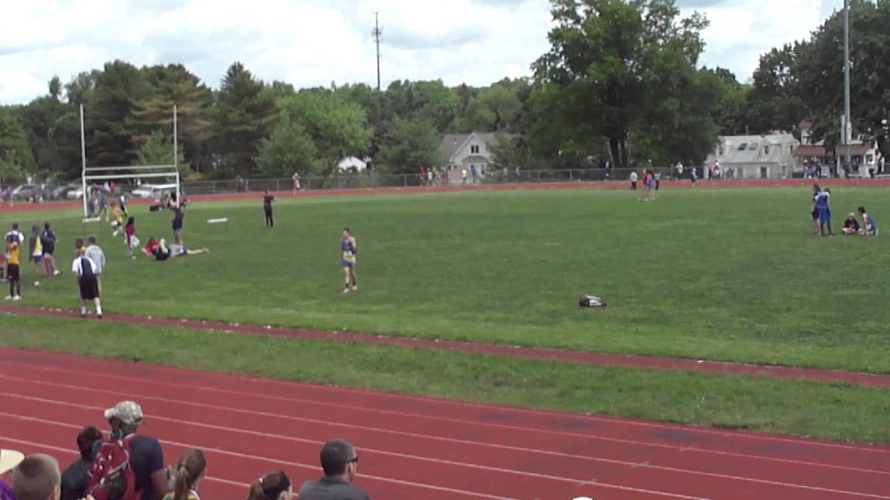 2014 Connecticut Middle School Track & Field State Open 1 Mile Run ...