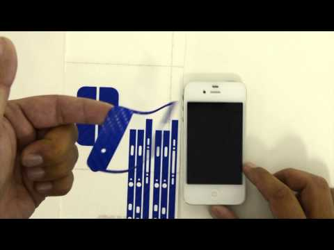 iPhone 4 & 4S Full Body Wrap Skin Kit by Stickerboy
