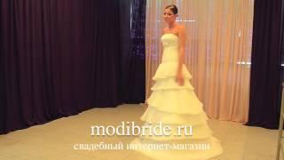Платье Amour Bridal 1081 - www.modibride.ru Свадебный Интернет-магазин(Modibride.ru (Модибрайд.ру) - это свадебный интернет-магазин, или, можно сказать свадебный салон в интернете. Здесь..., 2013-06-26T08:23:48.000Z)