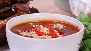 Andrew Zimmern Cooks: Hunan-Style Peanut Sauce