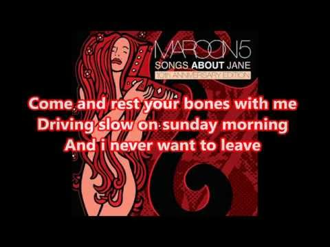 Maroon 5 -  Sunday Morning (Demo) [HQ + LYRICS]
