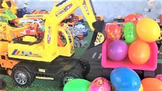 Dump Truck For Children | Car Toys in Water | Funny Kids Songs