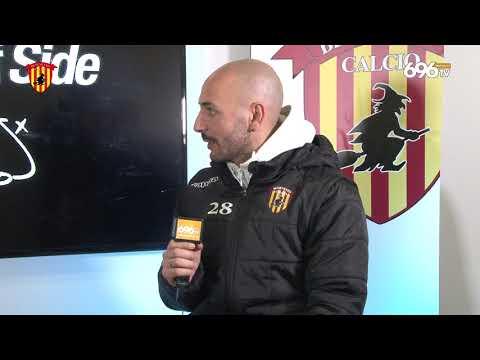#BeneventoPisa: Pasquale Schiattarella al termine del match