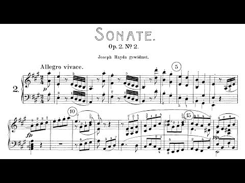 Beethoven: Sonata No.2  in A Major, Op.2 No.2 (Blechacz, Kovacevich, Pletnev)