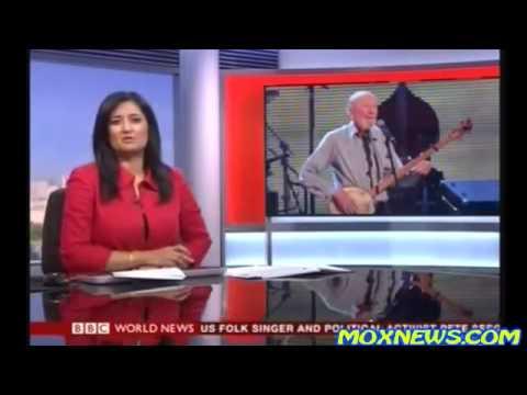 Pete Seeger : Legendary Folk Singer And Political Activist  Dies January 28,2014