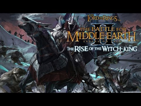 The Battle For Middle-Earth II: The Rise Of The Witch-King Full Walkthrough HD [Hard]
