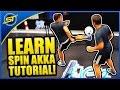 Football Street Skill Tutorial: The Amazing ''SPIN AKKA'' ★ Neymar/Ronaldo Skill Style (Episode #2)
