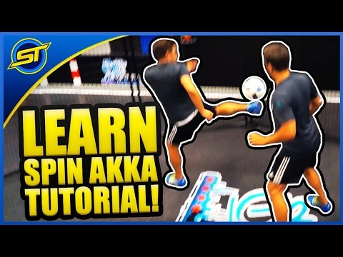 Football Street Skill Tutorial: The Amazing ''SPIN AKKA'' ★ Neymar/Ronaldo Skill Style (Episode #2)