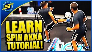 Football Street Skill Tutorial: The Amazing