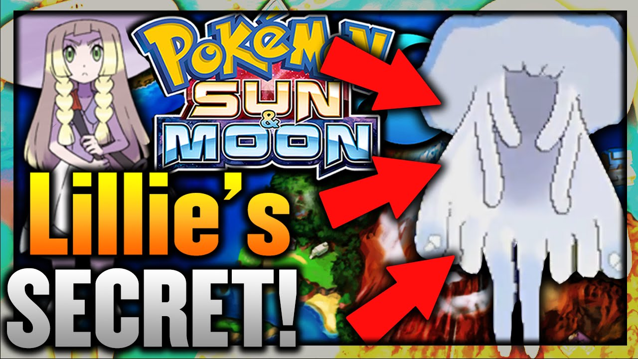 LILLIE'S HIDDEN SECRET REVEALED!! - Pokemon Sun and Moon NEW STORY  INFORMATION!