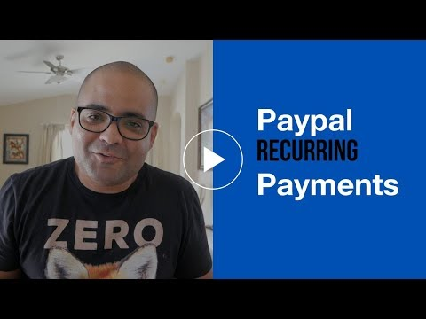 How To Setup Paypal Recurring Payments For Your Business