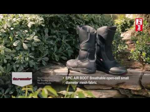 ce2a99033ff8d Tourmaster Boots with OutDry Technology - YouTube