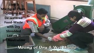 De-centralized Solid-Waste Management & Composting at Miranda House, Delhi University