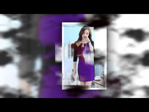 Mẫu Váy đầm Công Sở Tuổi Trung Niên Mới Nhất - F4T