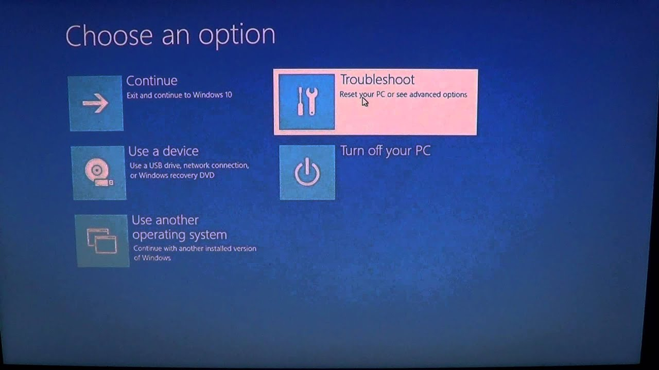 Windows 10 How To Use System Restore If You Cant Use