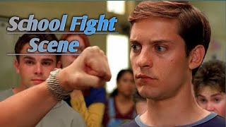Spiderman (2002) | Peter Parker Vs Flash School Fight Scene | HD Clip (1440p) | Action Clips