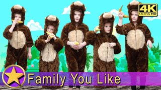 Five Little Monkeys Jumping On The Bed - Nursery Rhymes Kids Song - 4K