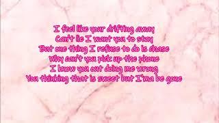 Sonta - Your Mistake (With Lyrics)