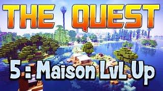 THE QUEST - Ep. 5 : Maison Lvl Up - Fanta et Bob Minecraft Adventure