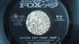 "Brightlights ""Motor City Funk"" Part 1"