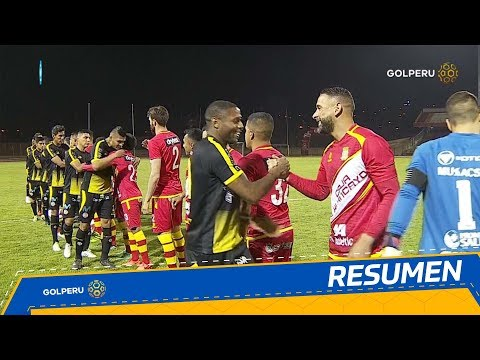 Resumen: Sport Huancayo vs. UTC (1-1)