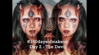 The Devil Makeup Tutorial - Recreating @haiqaghazi's work   Theodora Olivia