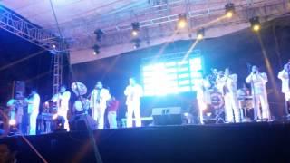 Banda Incomparable de Altepexi en Vicente Guerrero Puebla 01/01/2015 parte 1