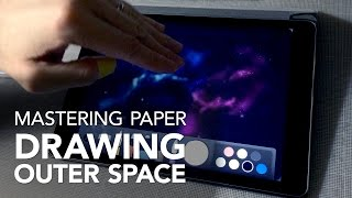 Mastering Paper by 53: Drawing Outer Space - Part 1